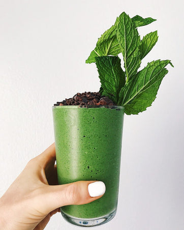Mint Cacao Smoothie