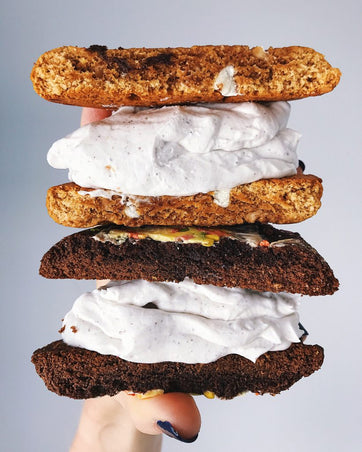Health-ified ice cream sandwiches