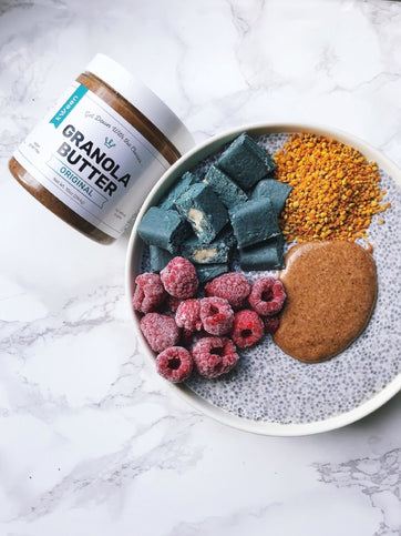 Mermaid Chia Pudding