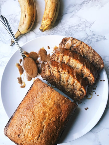 Granola Butter Banana Bread