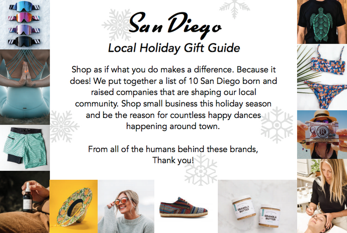 San Diego Local Holiday Gift Guide