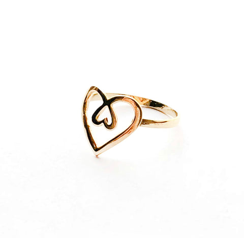 Piece Of Heart Ring