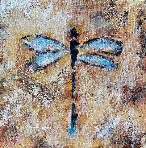 "Gallery Canvas ""Blue Dragonfly"""