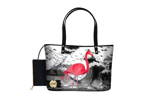 Dressy Zip Bag - Flamingo