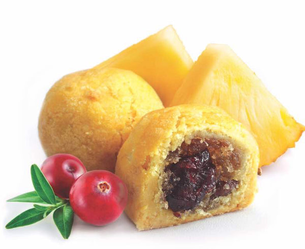 Cranberries Pineapple Ball