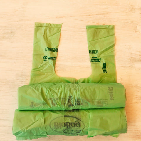 Compostable BioBag Bin Liners - Cleanr Crates