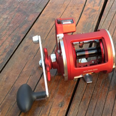 12BB Boat Reel Right Left Hand Trolling Fishing Reel With Electric Counting Real Super strong pull tornado Drum Fishing Reel