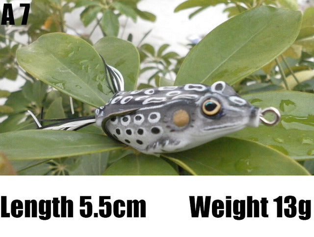 Frog Fishing lures