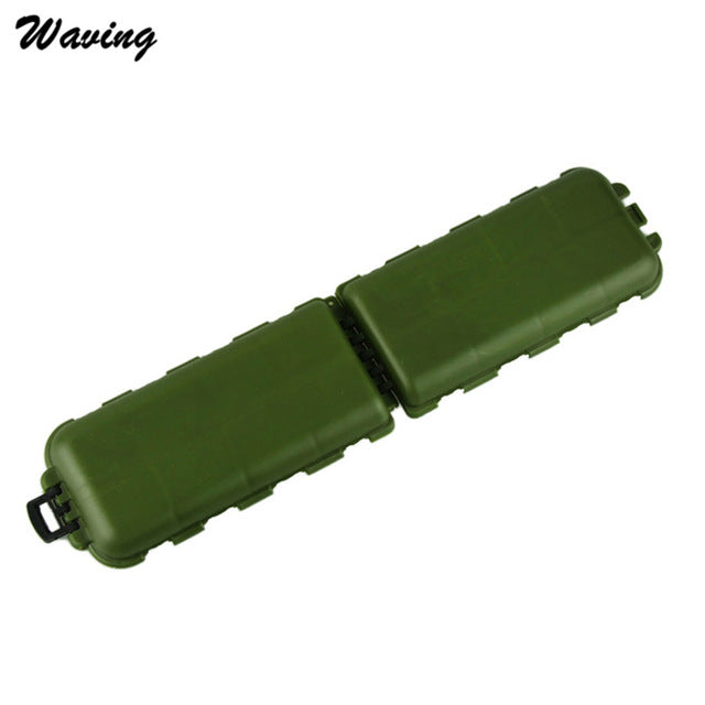 Army Green Plastic Fishing Tackle Boxes
