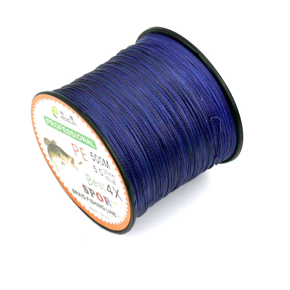 500M PE Fishing Line Strong Power Super Braided Lines Strands Wire Super Strong Japan Multifilament PE Fishing Line Pesca
