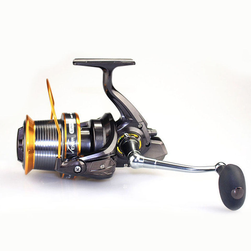 Super 13BB LJ9000 Reel 4.1:1 Quality Big Game Sea Fishing Reel Metal Saltwater Fish Wheel