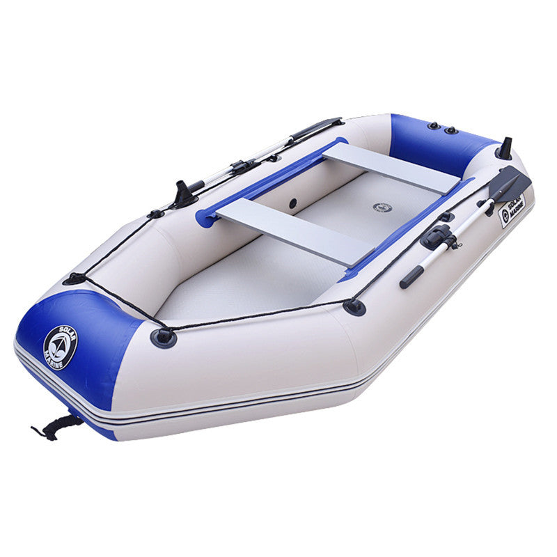 Drifting Surfing Fishing Boat 3 Person Rubber Inflatable Boat Fishing Sport Kayak Canoe Pvc Dinghy Raft With Aluminium Paddle