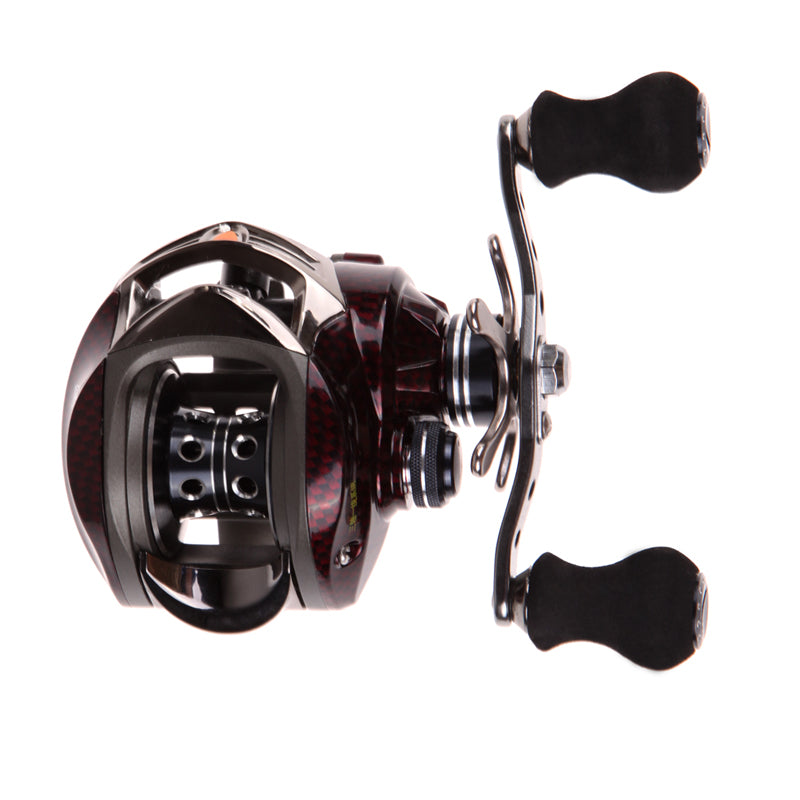 18+1 BB 7.0:1 Saltwater Metal Frame Baitcasting Fishing Reel Right Hand Sea Fishing Reel Saltwater