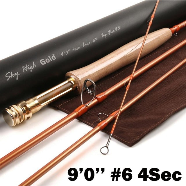 Maximumcatch 9FT 5/6WT 4Sec IM12 Japanese Carbon Fly Fishing Rod Half-well Fast Action Fly Rod