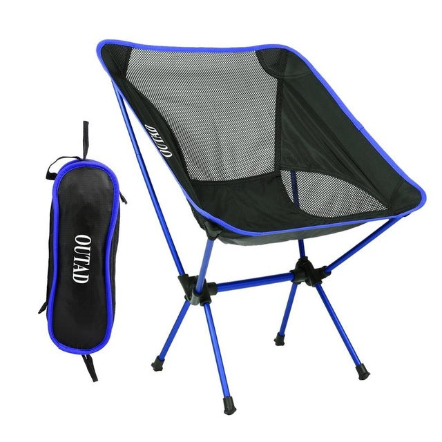 Picnic Beach Chair Ultralight Aluminum Alloy Light Folding Fishing Chair Portable Leisure For Outdoor Activities Drop Shipping