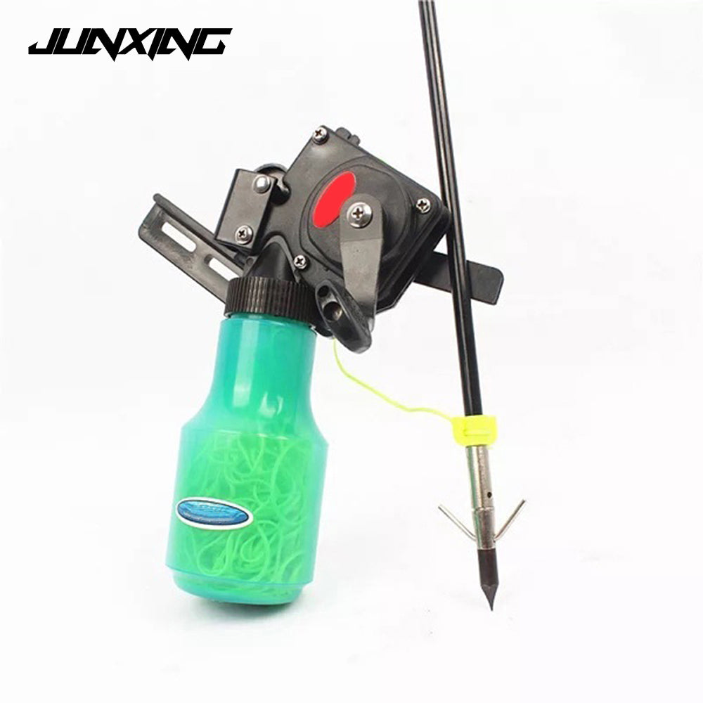 High Quality Bow Fishing Spincast Reel for Compound Bow and Recurve Bow Shooting Tool Fish Hunting Bow Fishing