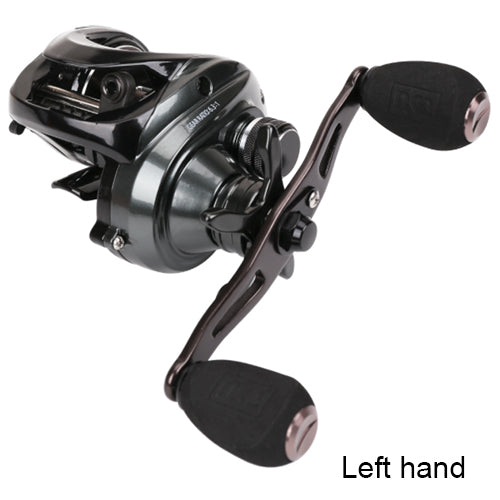 Trulinoya Saltwater & Freshwater Baitcasting Fishing Reel High Speed 6.3:1 Max Drag 10KG Centrifugal Brake Sea Lure Fishing Reel