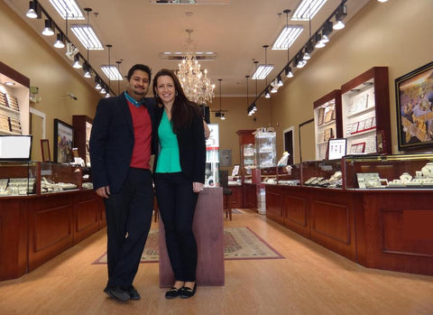 Shawn and Sonia Kishnani, Aurora Jewelers, Skagway, Alaska