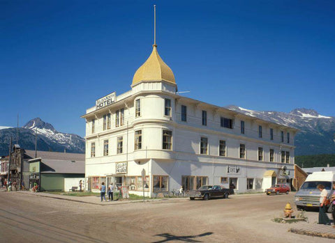 Golden North Hotel in Skagway, AK