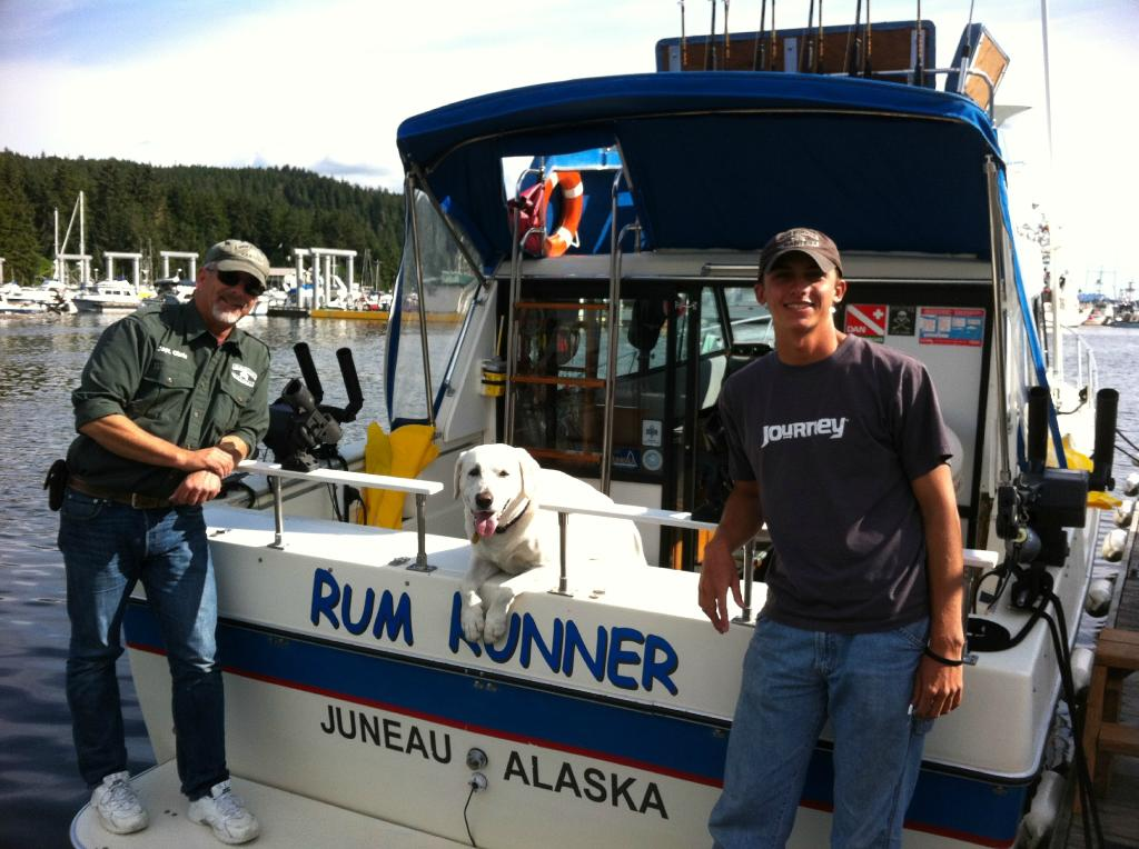 Rum Runner Charters offers some of the best whale watching and salmon fishing in Juneau, Alaska