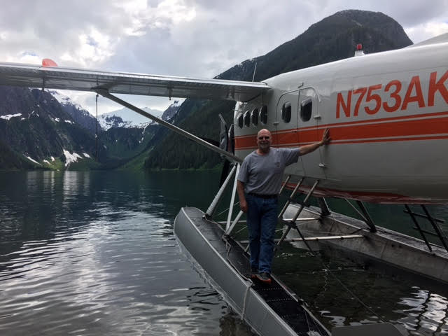 Mike Stedman founder of Alaska Seaplanes and pilot for Wings Airways