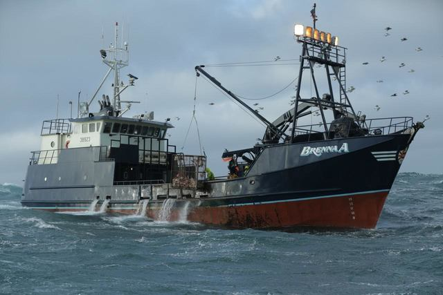 The Brenna A is a crab fishing vessel operated by Sean Dwyer out of Ketchikan who is a captain on the Discovery Channel's Deadliest Catch