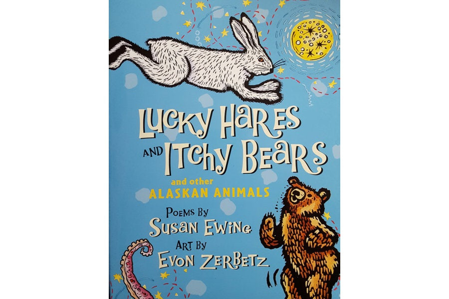 Lucky Hares & Itchy Bears kids book with art by Ketchikan artist, Evon Zerbetz