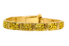 All natural Alaskan gold nugget men's bracelet by Orocal