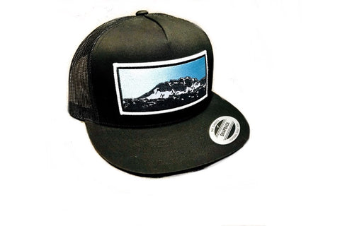 Skagway Face Mountain Alaska hat