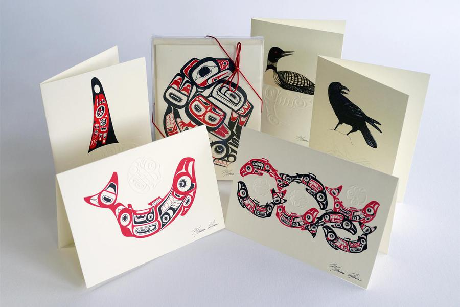 Marvin Oliver Native Art Card Box Collection