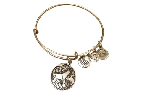 Alex and Ani Alaskan Whale Tail Bangle