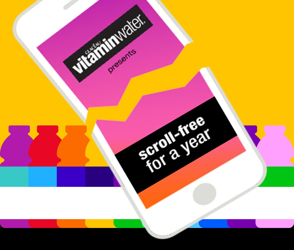 How to win the VitaminWater contest No Phone for a Year