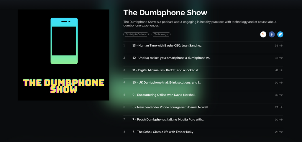 The Dumbphone Show: Human Time with Bagby CEO, Juan Sanchez