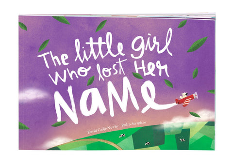 The Little Girl Who Lost Her Name - Personalized Book for Children