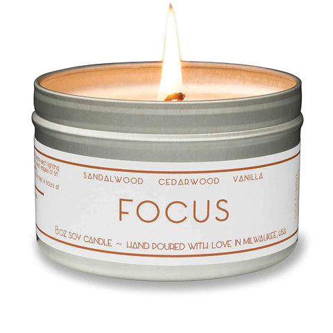 Scented Candle Focus