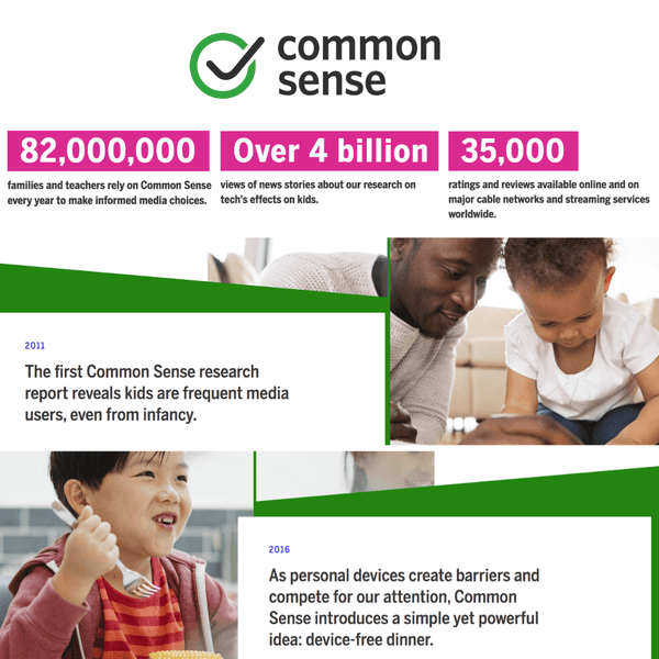 donate CommonSense