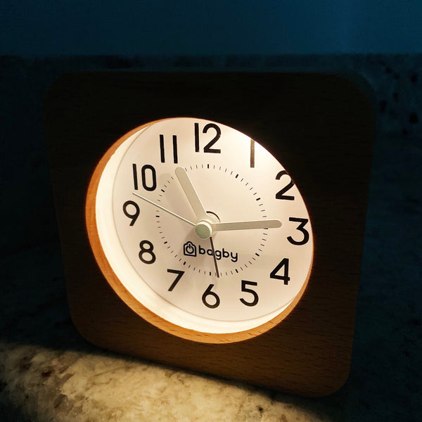 nigh light alarm clock