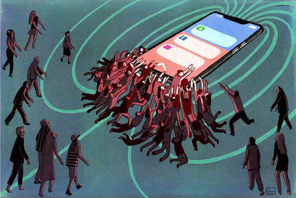 Smartphone addiction center