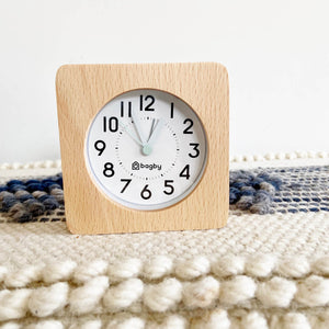 Bagby Silent Alarm Clock Farmhouse