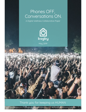 Phones OFF, Conversations ON- 2019 Digital Wellness collaborative report