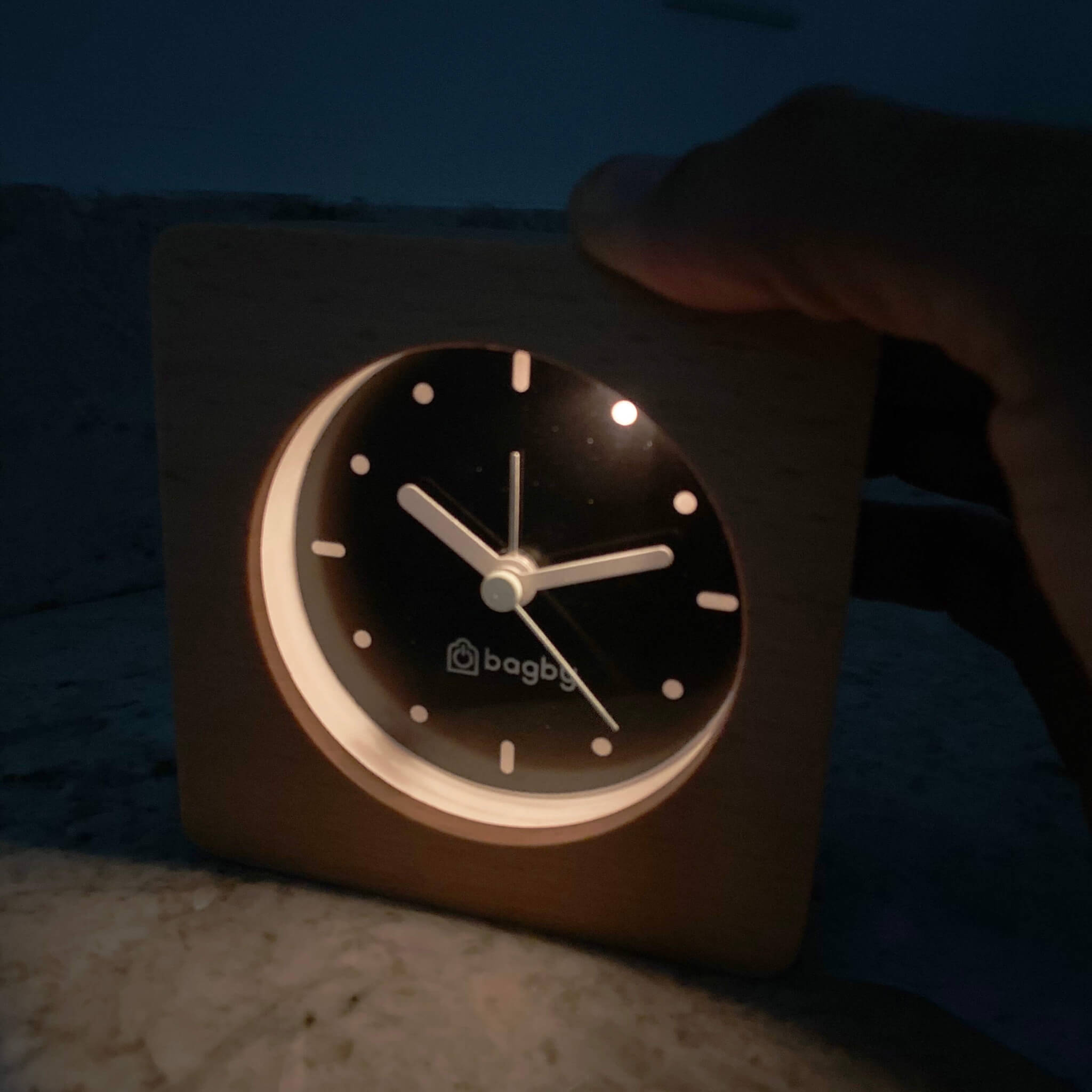 Minimalist Silent Digital-Free Alarm Clock Natural