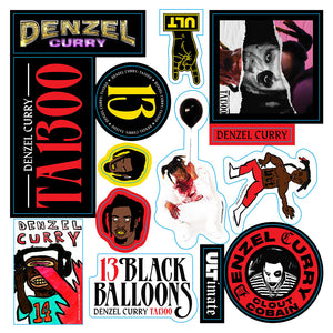 DENZEL STICKER SHEET