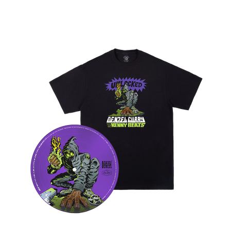 UNLOCKED Picturedisc + T-Shirt + Digital Album
