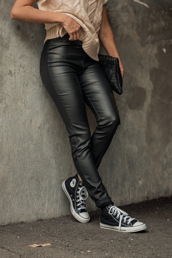 Olivia Faux Leather Pants
