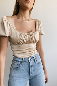 Juliet Satin Top