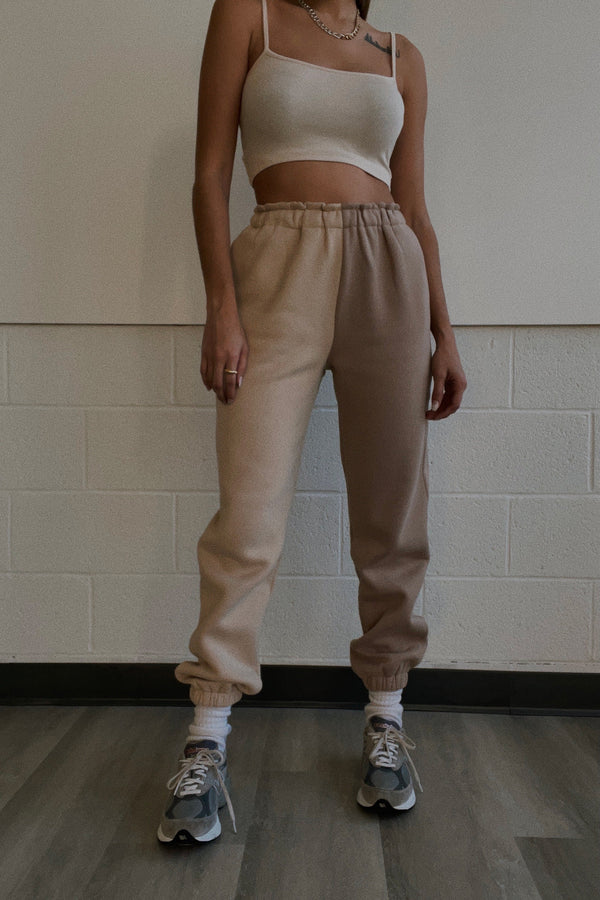 Lani Two Toned Sweatpants