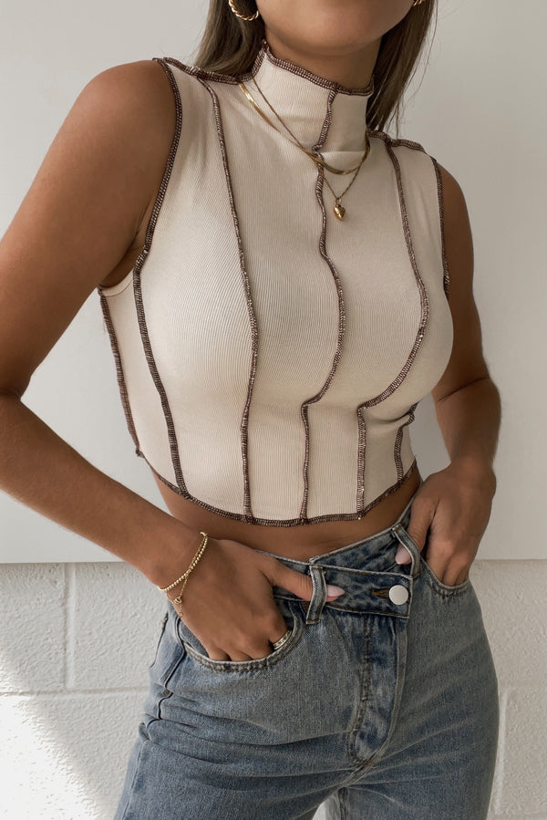 Janelle Top Bone
