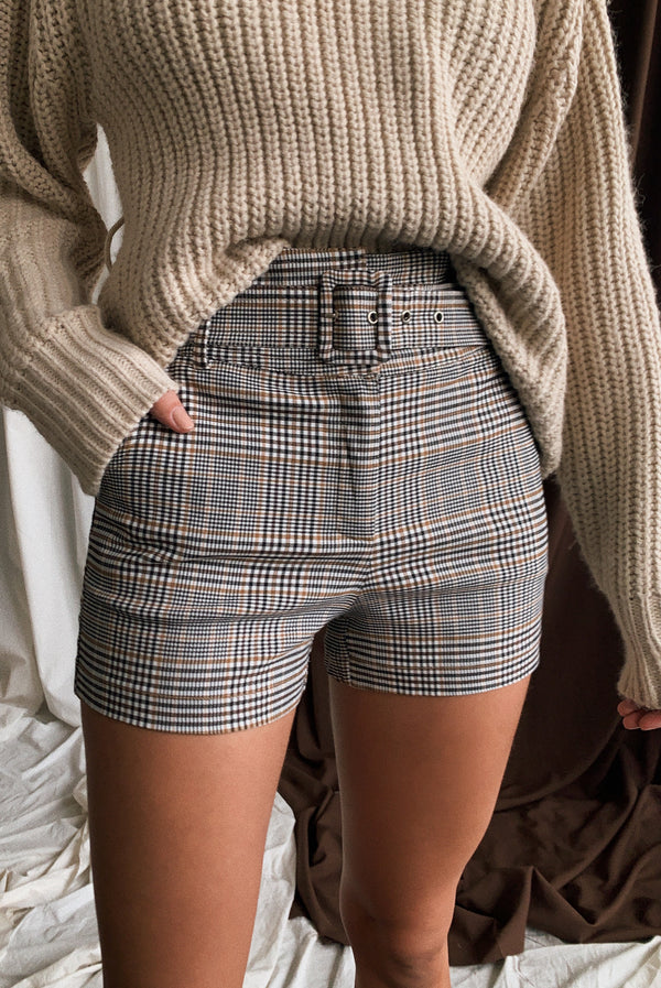 Avalon Plaid Shorts