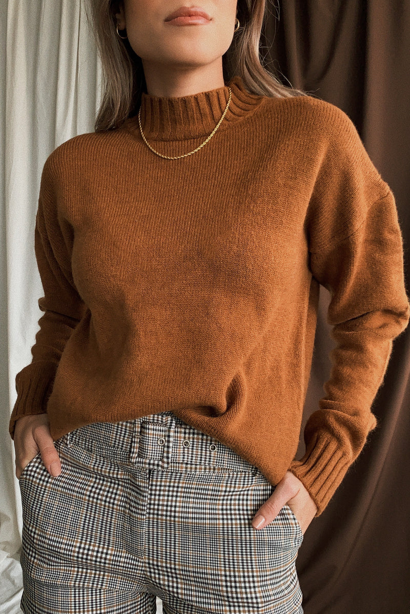 Lake Powell Mock Neck Sweater