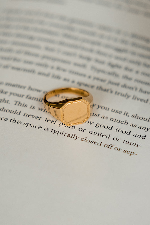 Maju Octagon Ring